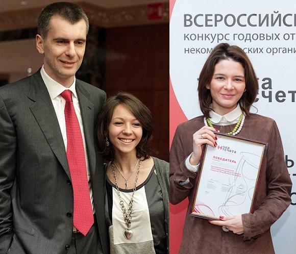 Брат, дочь и внучка Ирины Прохоровой