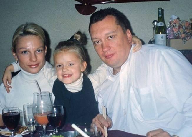 Милана Тюльпанова с родителями