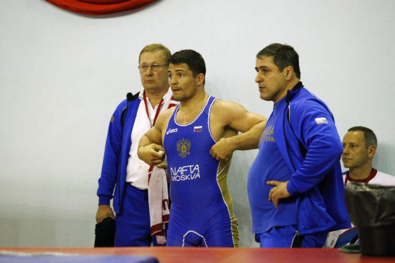 Алексей Мишин перед соревнованиями