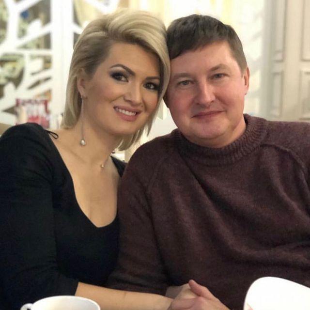 Ландыш Нигматжанова с мужем