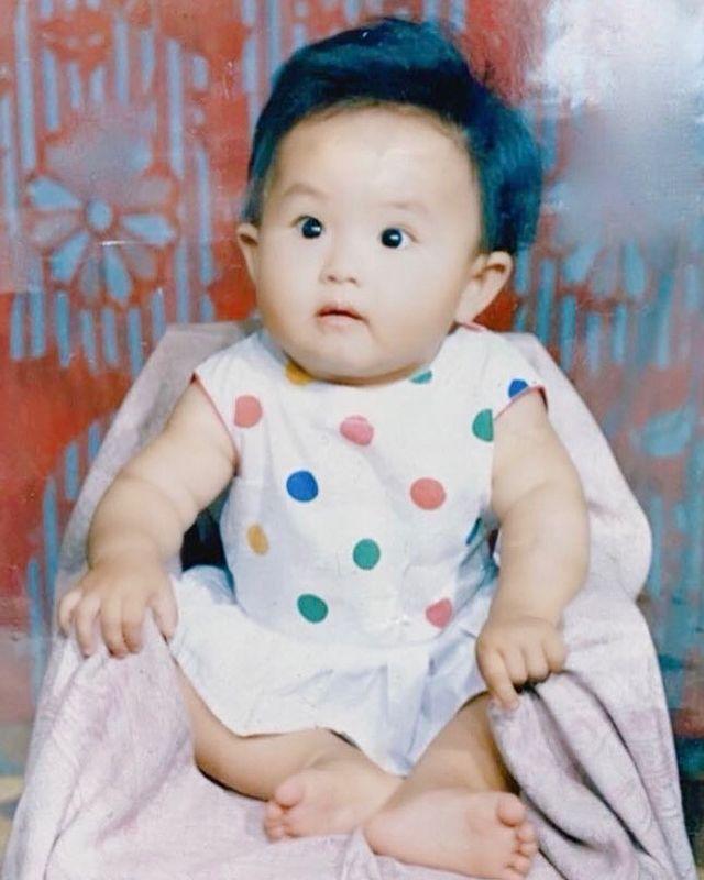 Виктория Сон в детстве