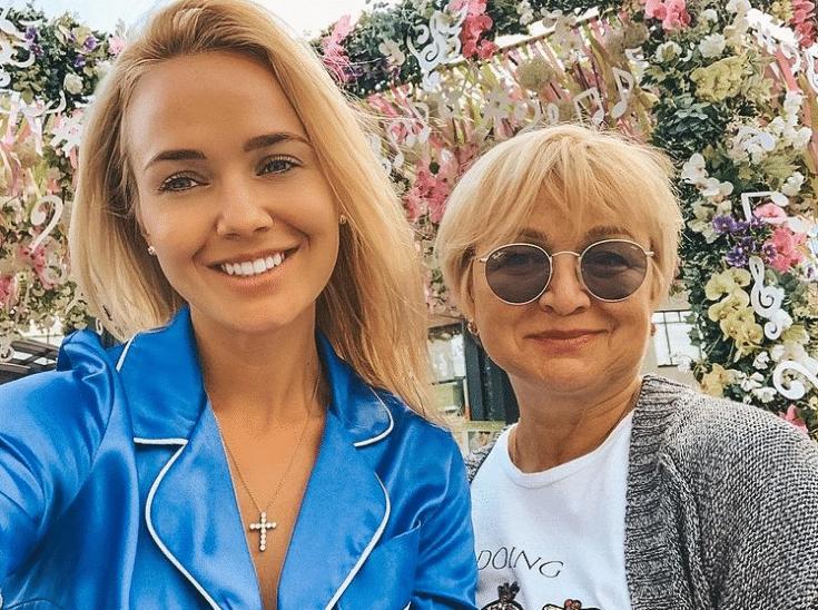 Екатерина Данилова с мамой
