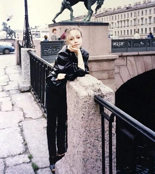 Екатерина Кухар в юности