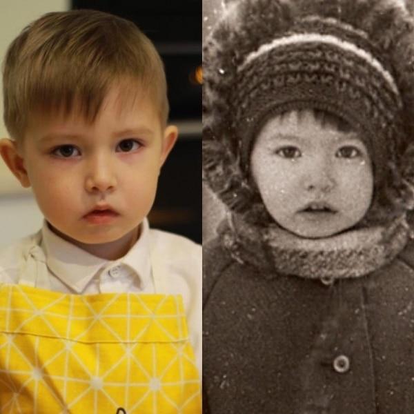 Ландыш Нигматжанова в детстве