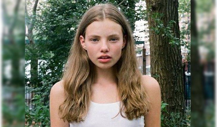 Кристин Фросет в 14 лет
