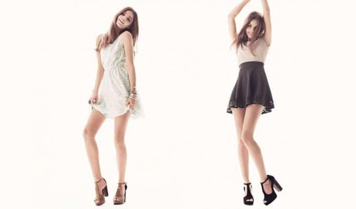 Кристин Фросет снялась в рекламной компании H&M